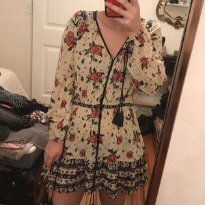 Cleobella boho mini dress